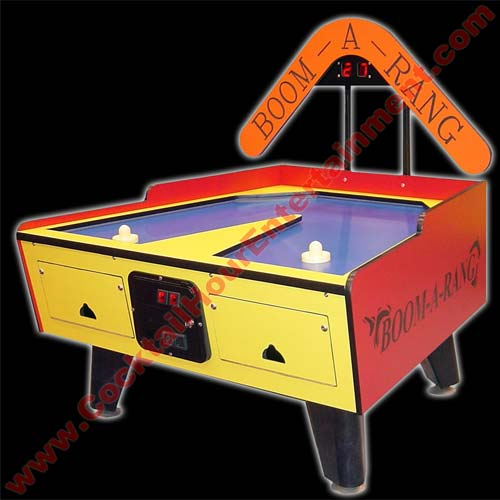 florida arcade game air hockey rental
