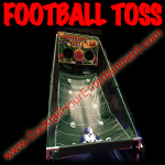 florida arcade game football toss game