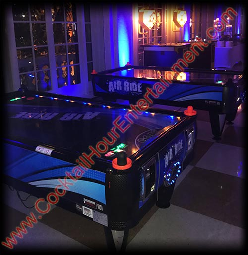 breakers resort air hockey games