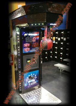 boxing puncher arcade machine