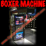 boxer punching arcade machine