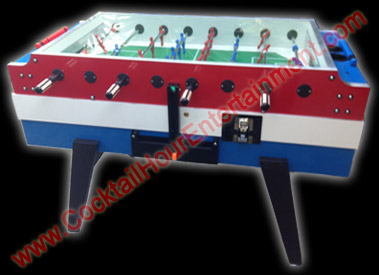 florida arcade game foosball rental
