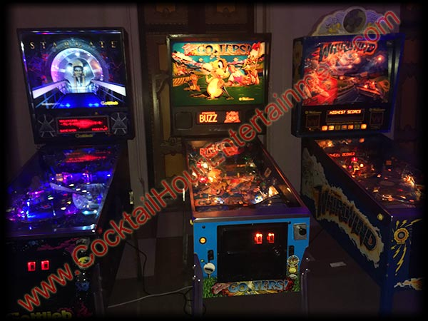 pinball machines breakers resort